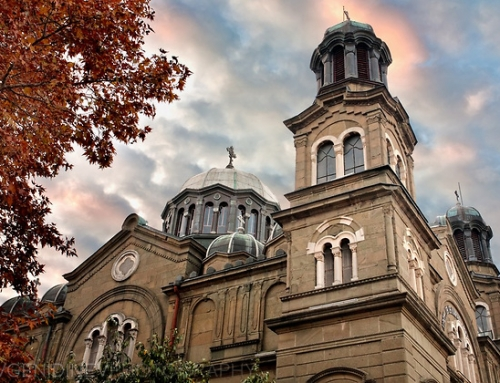 "Places to visit in Burgas. The cathedral church ""Saints Cyril and Methodius"""