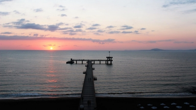 the pier in burgas